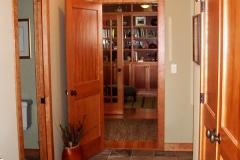 Hallway Study Entrance