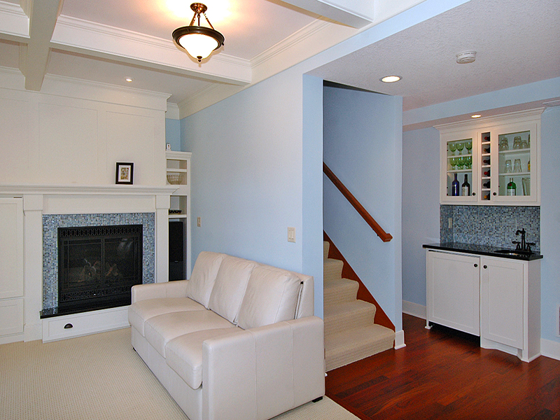 Hickory street living room bath remodel delaney for Lifestyle bathroom renovations