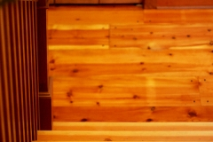 Hardwood Grain Staircase