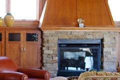Fireplace Mantle Area